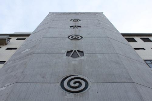 0258:あわぎんホール 北側外観③
