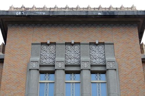 0260:徳島県立文書館 正面外観2階部分