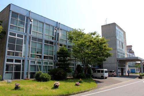0261:鳴門市庁舎・市民会館 庁舎南側外観①