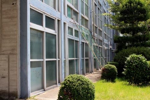 0261:鳴門市庁舎・市民会館 庁舎南側外観③