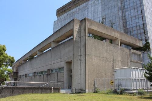 0262:鳴門市文化会館 西側外観①
