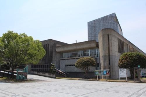 0262:鳴門市文化会館 北側外観①