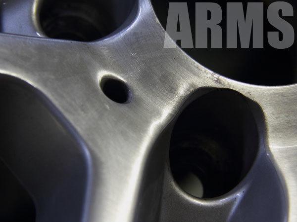 AMGホイールのリペア