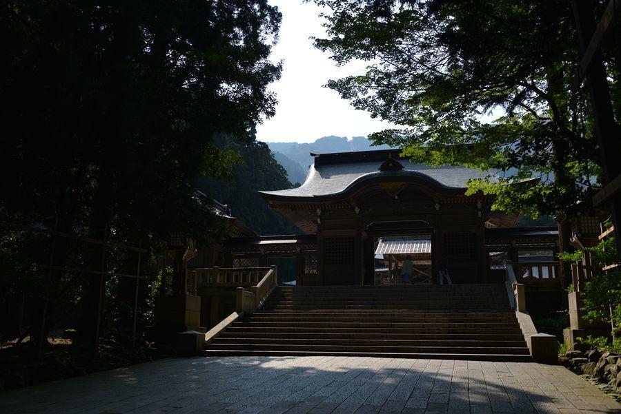 日陰の神社-4