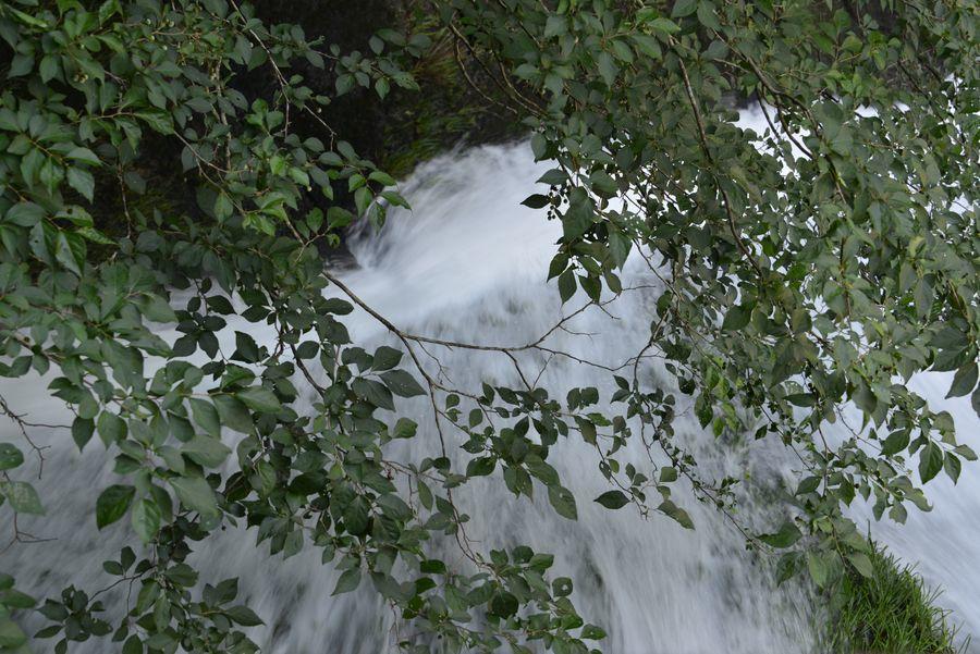 ダムからの水-3