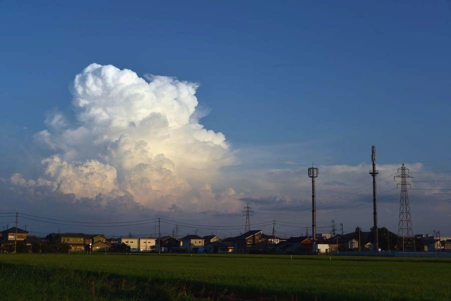 街の入道雲-3
