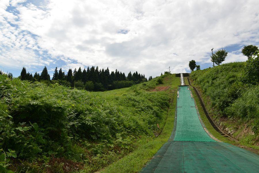 夏のスキー場-7