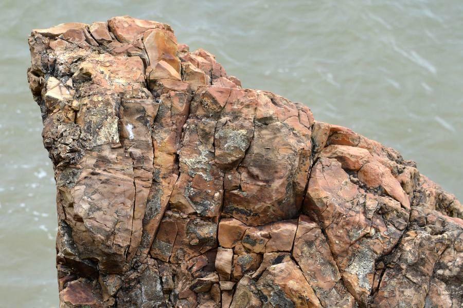 海岸の岩-4