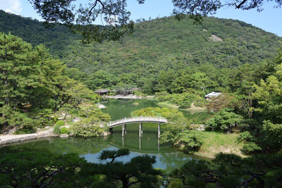 栗林公園  偃月橋-2