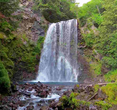 観る のりくら三滝 善五郎の滝3