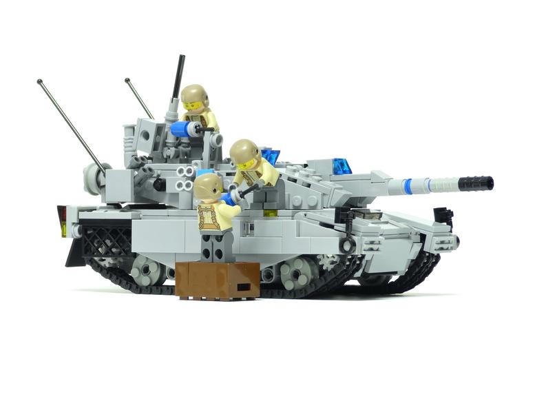 レゴ 戦車 装填