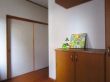 ファブリックパネル 玄関 (1)