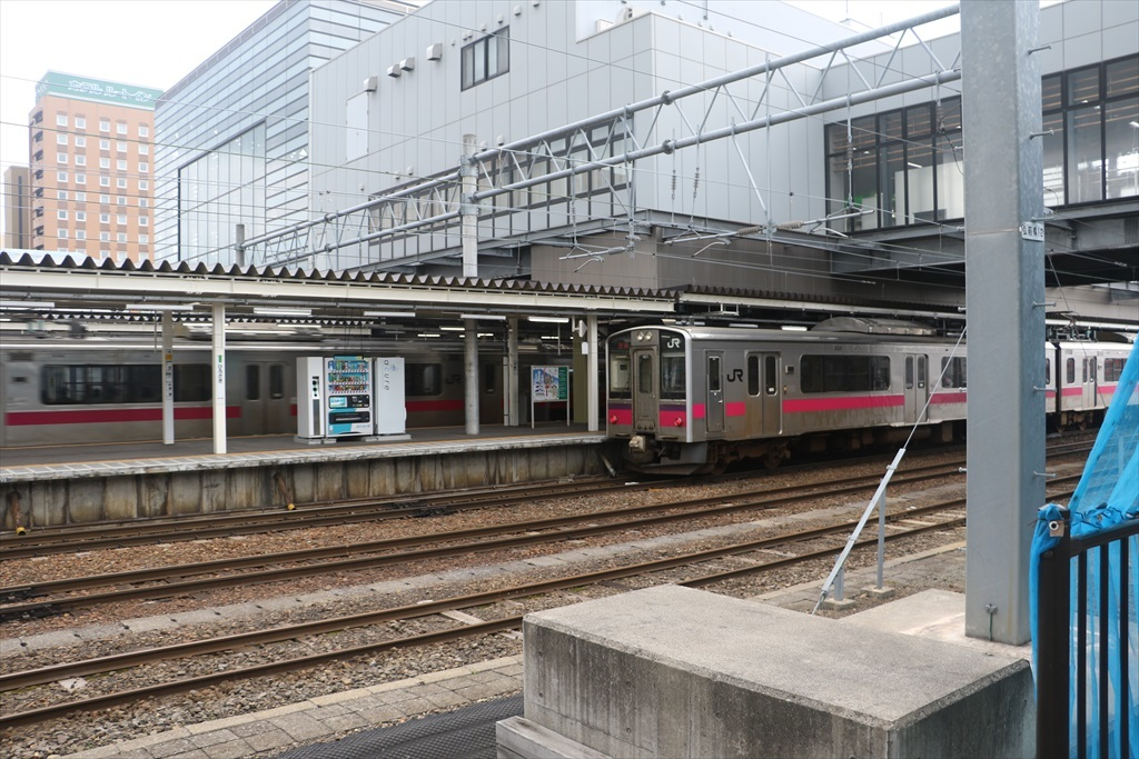 弘前駅に到着_1