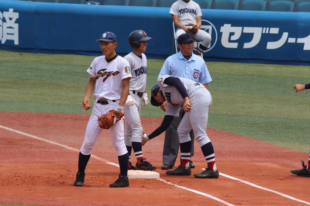 最初から横浜高校の猛攻が始まった_1