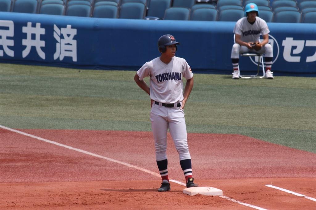 最初から横浜高校の猛攻が始まった_5