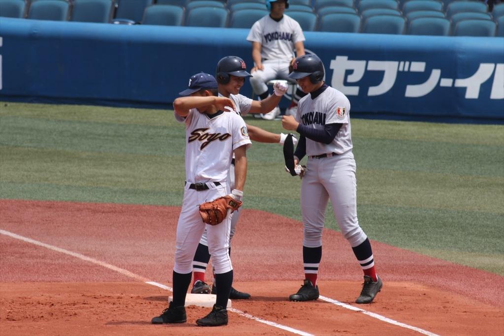 最初から横浜高校の猛攻が始まった_7