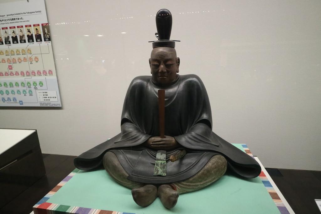 徳川家康公座像(複製)