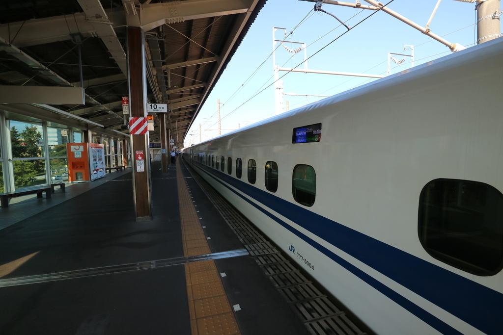 掛川駅到着