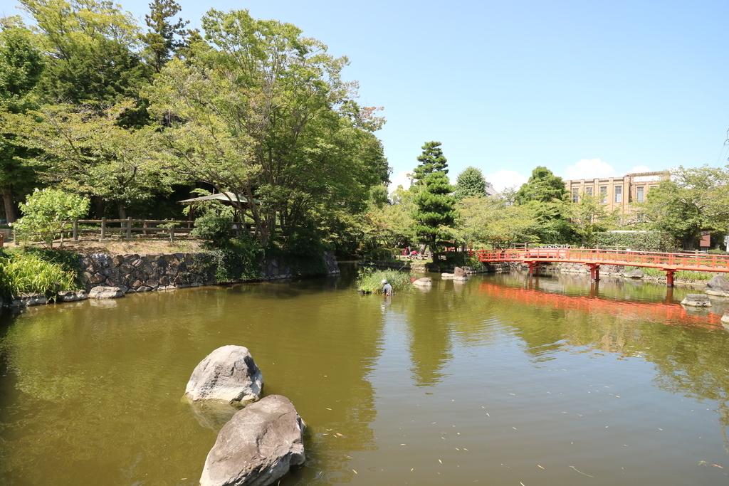 掛川城公園_はす池_2