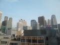 170716宿から西新宿のビル街を望む