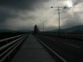 170723自転車道を離脱。山城大橋を渡る