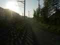 170909草津線と並走する旧東海道
