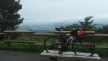 170811ピークの馬頭観音堂前駐車場からの眺望