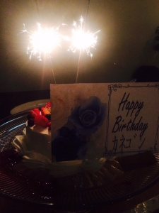 170723誕生日ケーキ