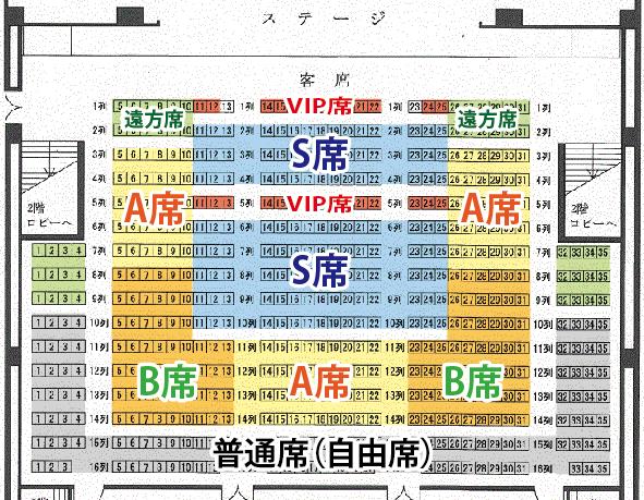 なかのゼロ席/画面