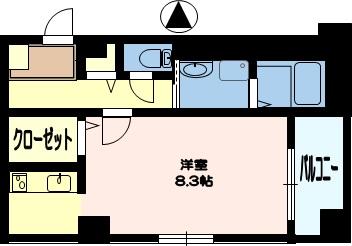 カンタベリーベルズ(建託)4号室