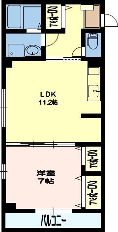 デスパシオ 4号室(建託)