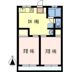 シティハイムトヨダ 洋室