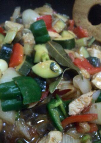 夏野菜でローカーボメニュー