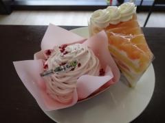 桃モンブラン 桃ショートケーキ