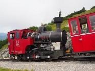 P2017710、シャーフベルク鉄道の蒸気機関車