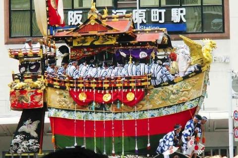 2017山鉾巡行船鉾(葉山左京) (4)
