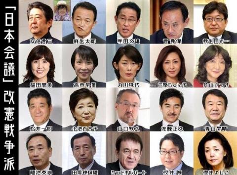 2017日本会議改憲派