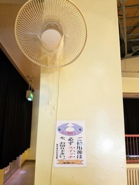 暑い体育館2