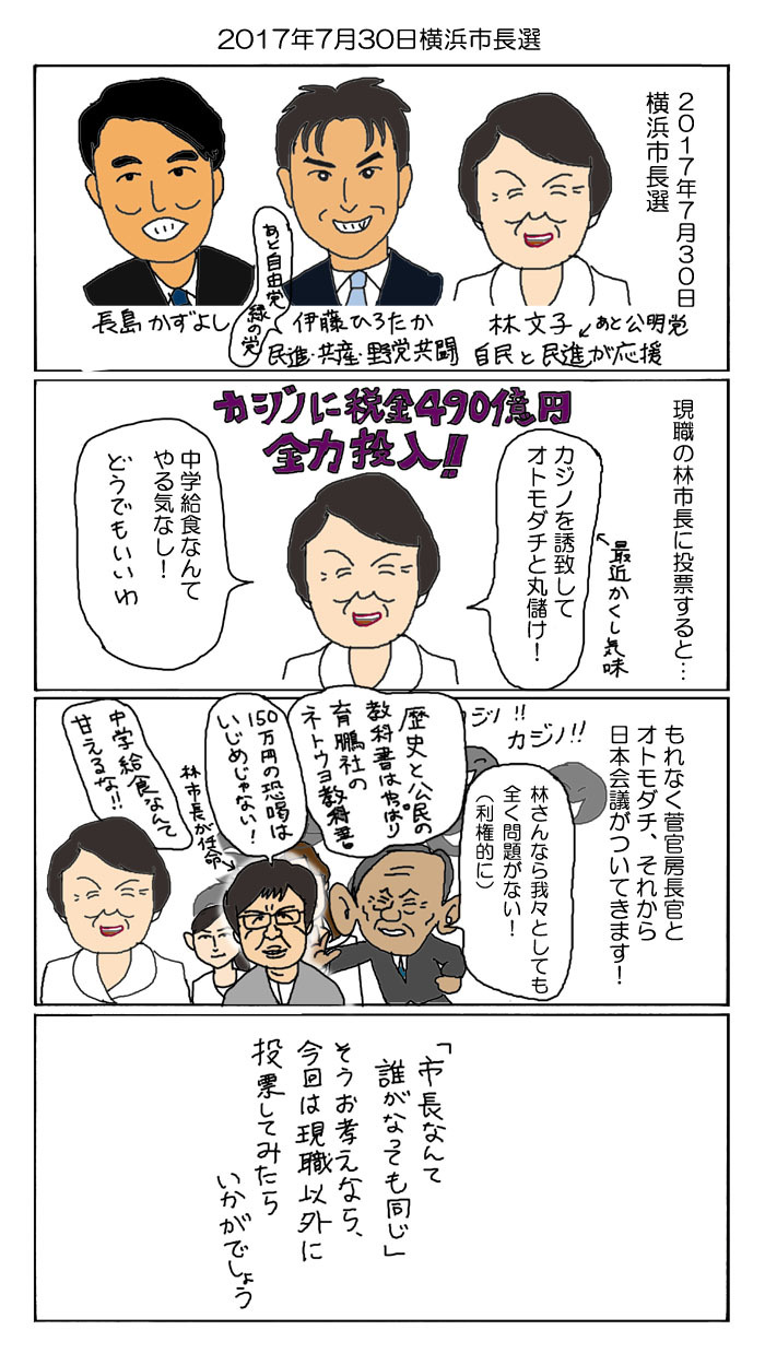 20170720横浜市長選