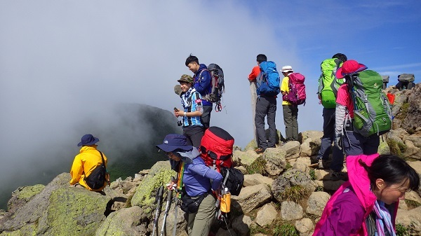 燧ヶ岳山頂