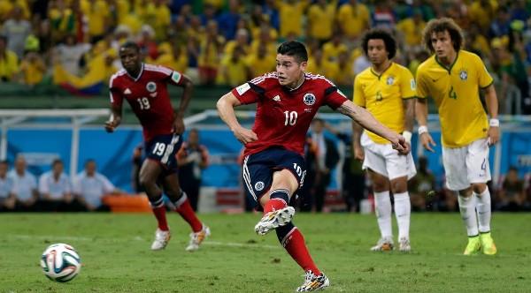 ブラジル対コロンビア