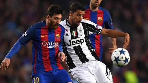 バルセロナ対ユベントス2
