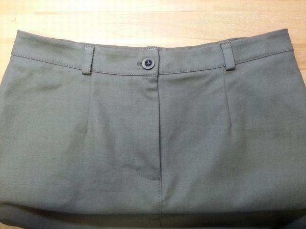 カーキタイトスカート11