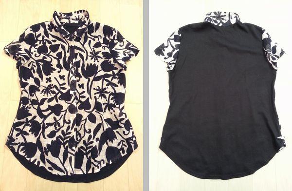 麻切替えシャツ2