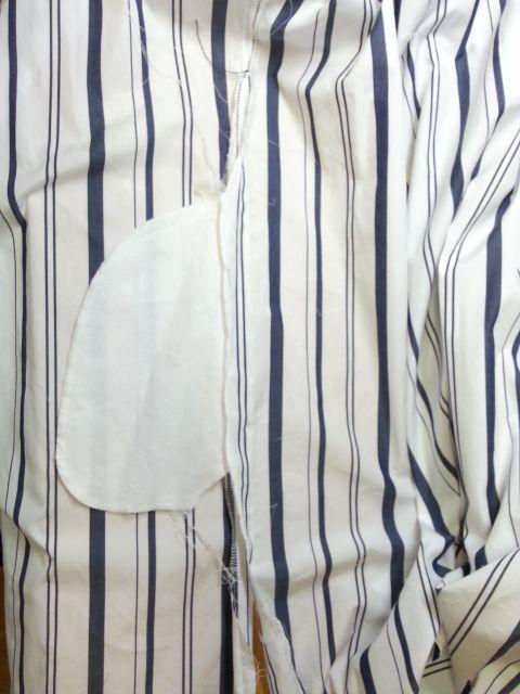 ストライプロングシャツ7