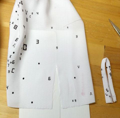copブラウス袖丈7