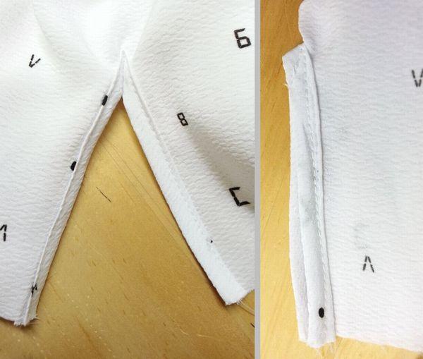 copブラウス袖丈12