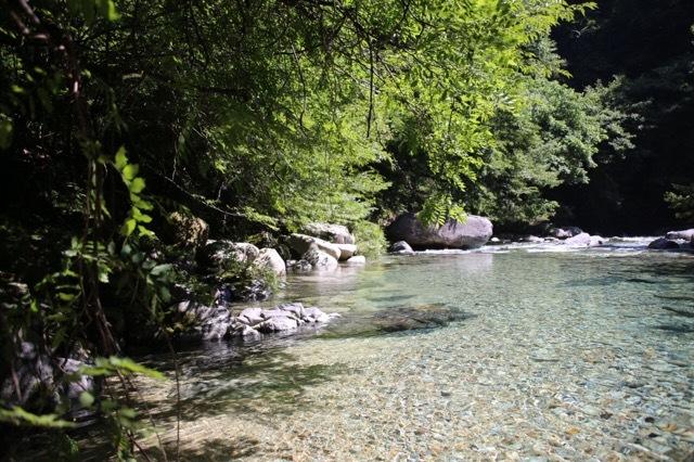 渓谷 川遊び フレブル 3