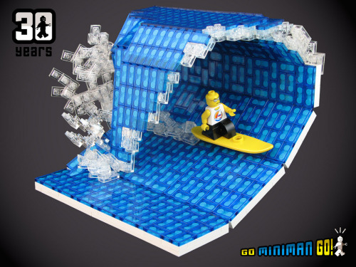 LEGOでサーフィン