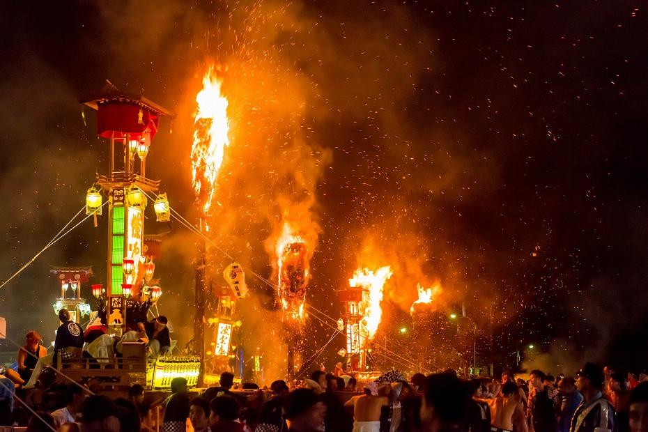 2017.07.07あばれ祭_いやさか広場で乱舞8